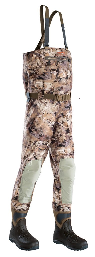 A good pair of waders will keep you dry, but a great pair of waders will keep you comfortable and safely store all of your accessories.