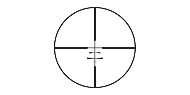 Long Range Hunting Scope - Reticle