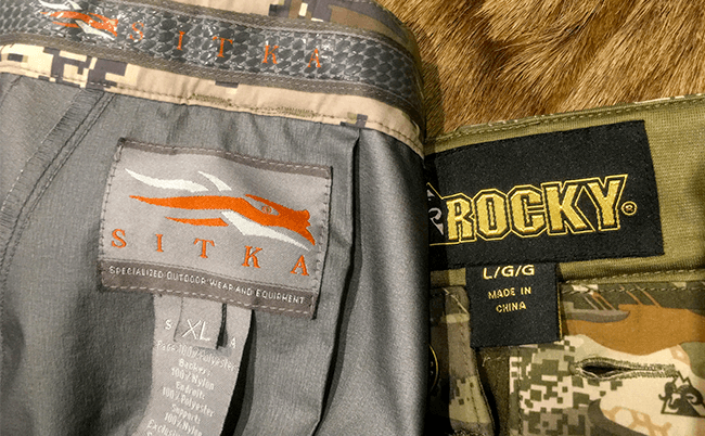 Hunting Clothing Fit and Size