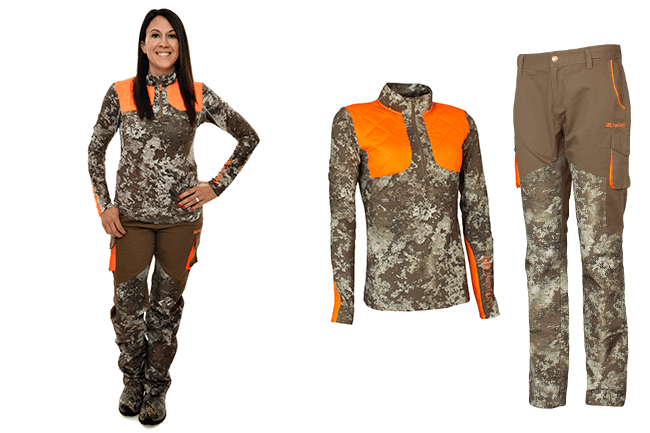 Girls With Guns - Brush Pants and Long Sleeve Field Shirt